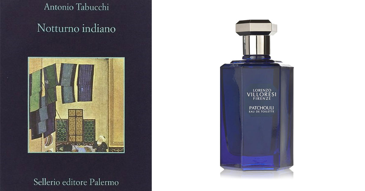 Patchouli (Lorenzo Villoresi) incontra Notturno Indiano (Antonio Tabucchi)