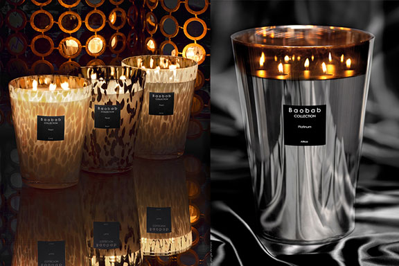AVERY Perfume Gallery presenta le candele preziose di Baobab Collection