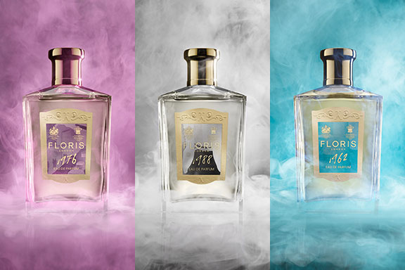 The Fragrance Journals. Floris firma un tour olfattivo a ritroso nel tempo