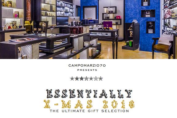 Essentially X-Mas 2016. Tornano gli Essential Days di Campomarzio70