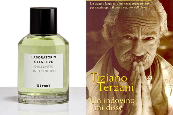Nirmal (Laboratorio Olfattivo) incontra Un indovino mi disse (Tiziano Terzani)