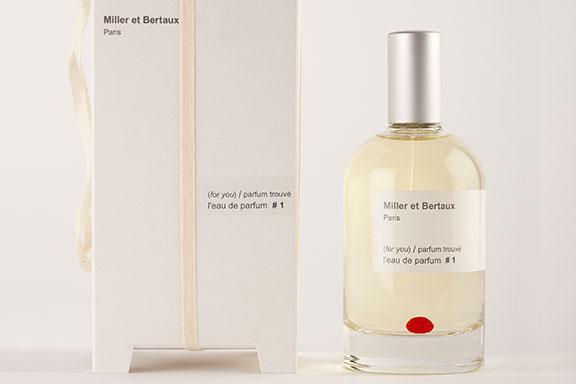 (for you) Parfum Trouvé #1 ~ Miller et Bertaux
