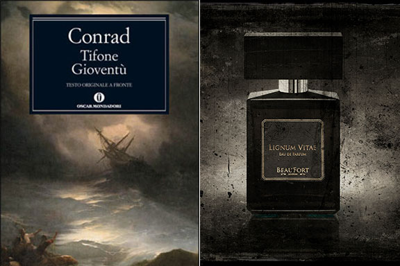 Lignum Vitae (BeauFort London) nel mare tempestoso di Tifone (Joseph Conrad)
