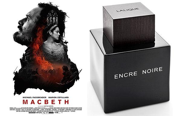 Il cuore oscuro di Encre Noire (Lalique) seduce Macbeth (Justin Kurzel)