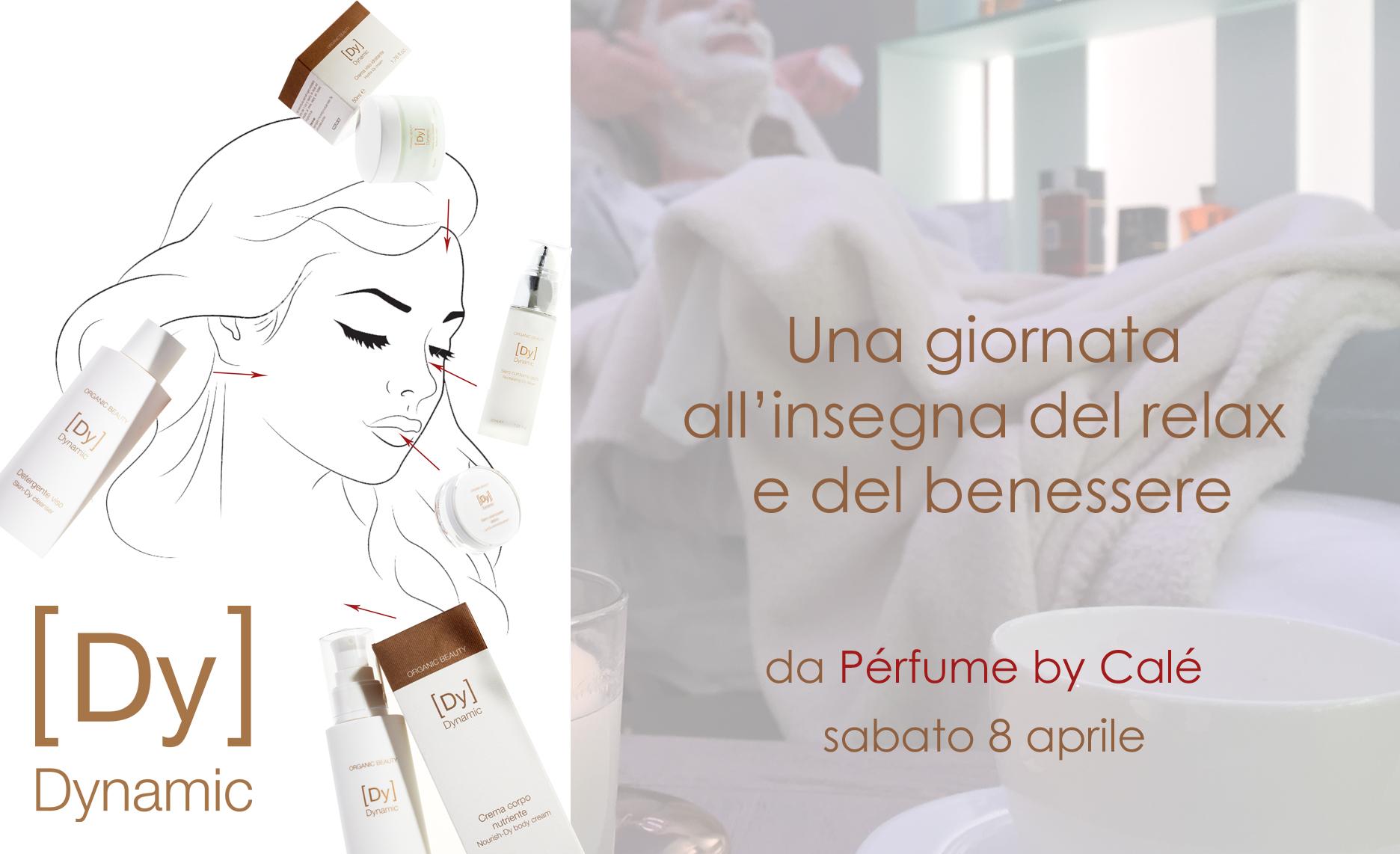 Una pausa di relax con Dynamic Organic Beauty da Pérfume by Calé