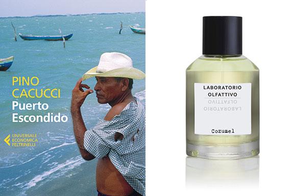 Cozumel (Laboratorio Olfattivo) nei personaggi di Puerto Escondido (Pino Cacucci)