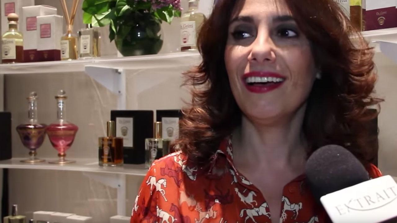 Paola Maugeri e il profumo
