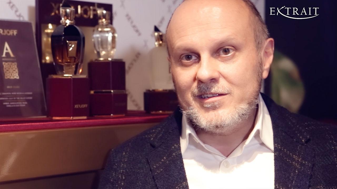 Xerjoff, Intervista a Sergio Momo