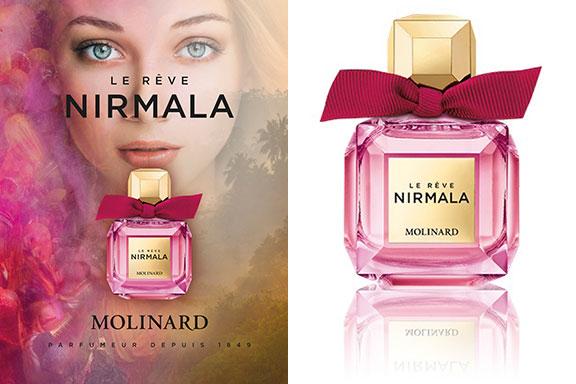 Le Reve Nirmala. Un sogno gourmand incanta l'universo Molinard
