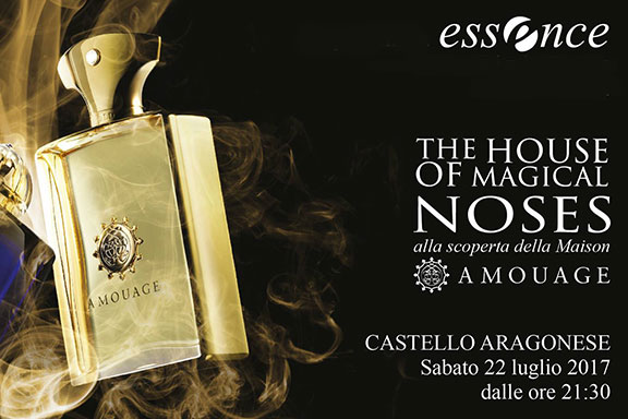 The House of Magical Noses. Una notte da sogno con Amouage e Profumeria Essence