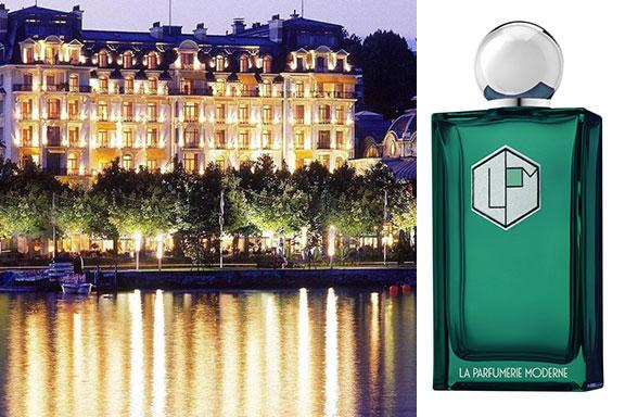 Belles Rives. La Parfumerie Moderne cattura il ricordo odoroso di un lago dorato