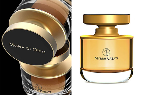 Myrrh Casati ~ Maison Mona di Orio. Un notturno balsamico modellato su un'opera d'arte vivente