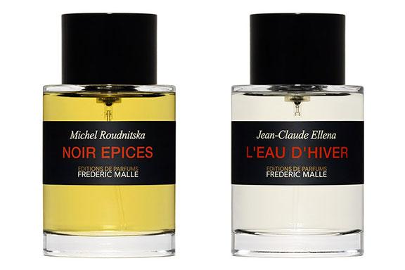 Noir Epices vs L'Eau d'Hiver ~ Editions de Parfums. L'inverno dei contrasti par Frederic Malle