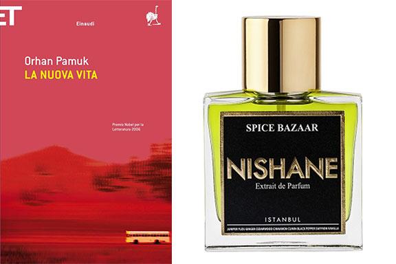 Le meraviglie odorose di Spice Bazaar (Nishane) tra le pagine di La nuova vita (Orhan Pamuk)