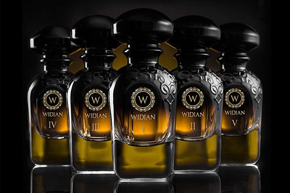 Black Collection. WIDIAN by AJ ARABIA declina il non colore per eccellenza in cinque parfum
