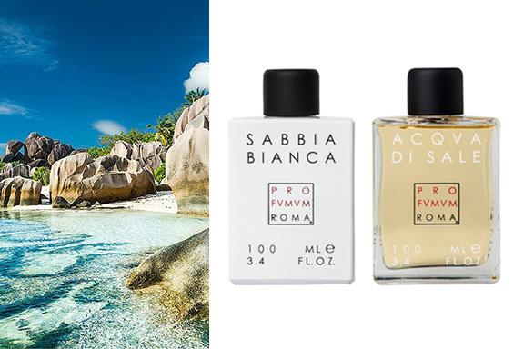 Nanà Scents Gallery presenta Sabbia Bianca di Profumum Roma, orgoglio italiano