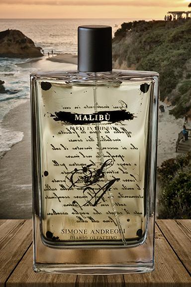 Malibù – Party in the Bay. Simone Andreoli trasporta l'olfatto nel cuore dell'estate