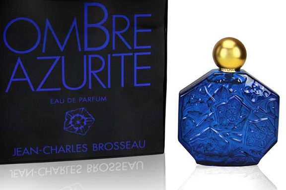 """Ombre Azurite. Jean-Charles Brosseau pennella di blu la collezione """"Ombre"""""""