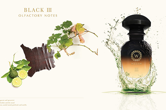 Black III. WIDIAN by AJ ARABIA cattura il vento caldo dell'estate