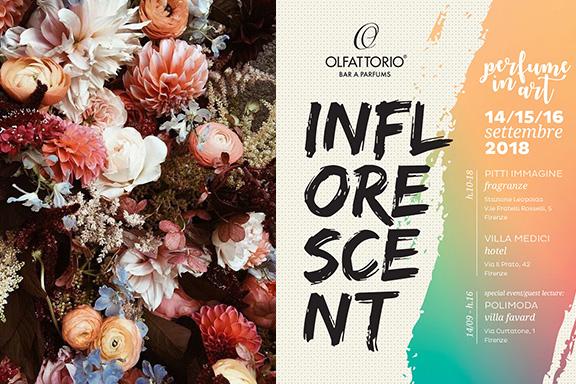 Olfattorio presenta INFLORESCENT – Perfume in Art: non uno, ma tre eventi