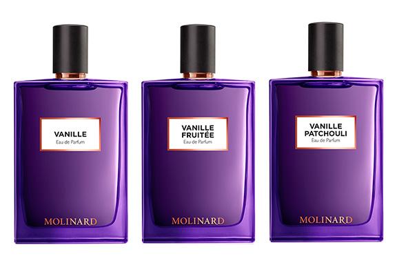 Vanille, Vanille Fruitée e Vanille Patchouli. La sensualità di Lolita secondo Molinard