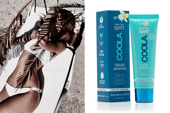 50 ml presenta i solari Coola, esclusivo brand californiano eco-friendly