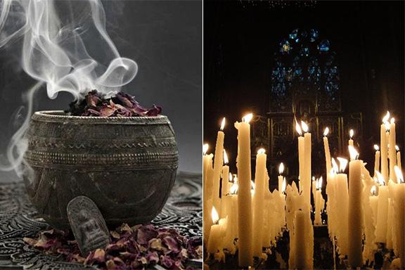 Meditazione olfattiva: profumi mistici e fragranze introspettive