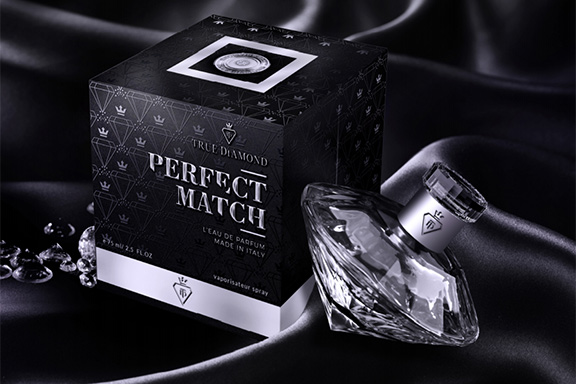Perfect Match. Con True Diamond il profumo diventa prezioso come un diamante