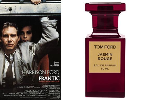 Il rossore glaciale di Jasmin Rouge (Tom Ford) profuma la suspence noir di Frantic (Roman Polanski)