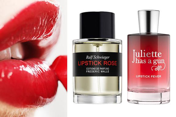 Eau de lipstick: la sensualità dei profumi che odorano di rossetto
